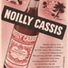 1950 Noilly Cassis Advertisement