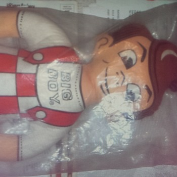 Big boy pillow still in original packaging.