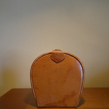VINTAGE ENGLISH LEATHER CASE/1940's