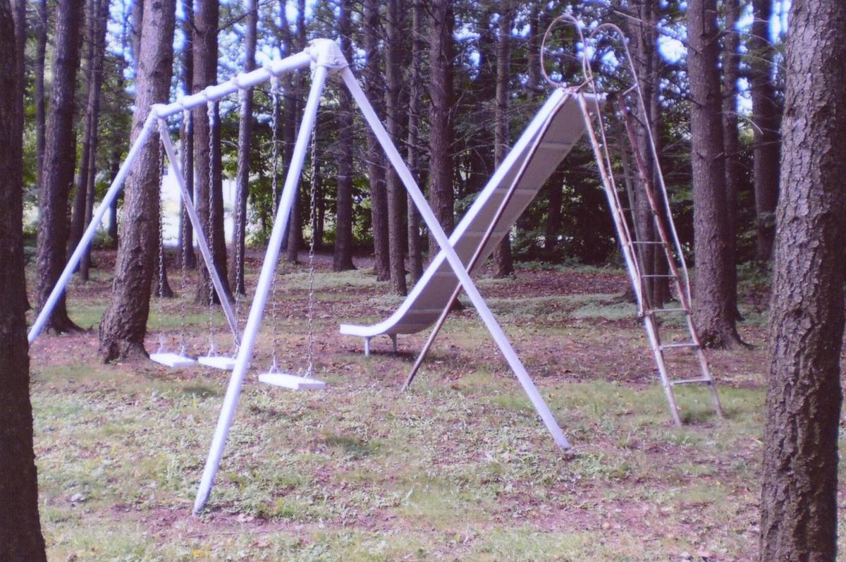 Antique School Playground 16' Bent Wood EverWear Childrens ...
