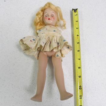 Doll _ Plastic ?