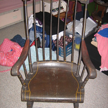 I've been told this is a Boston Rocker ???? - Furniture