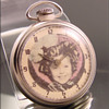 Shirley Temple Pocket Watch by Westclox c.1958