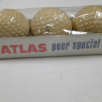 Atlas Peer Special Golf Balls