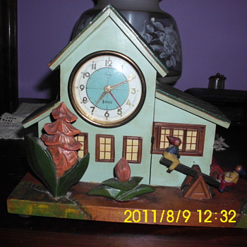 Music Box Clock - Clocks