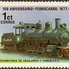 "Nicaragua ""Locomotives"" Postage Stamps"