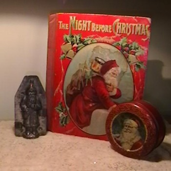 Vintage Christmas Items - Christmas