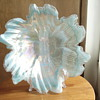 Large art glass bowl
