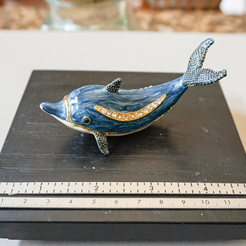 Dolphin Trinkette Box - Costume Jewelry