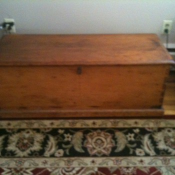 Sea Chest  possibly 1800's  -