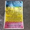 Woodstock Music and Art Festival poster