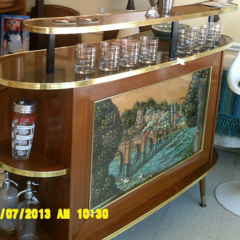 Best Mid Century Bar Ever!!!!!
