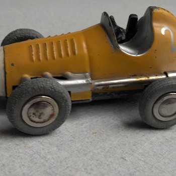 Old German Made wind up toy car
