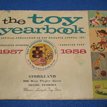1957 Toy Book (Storkland Miami, Fl) - Toys