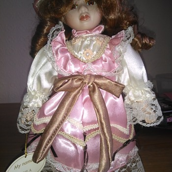 Genuine Porcelain Doll called Sheila