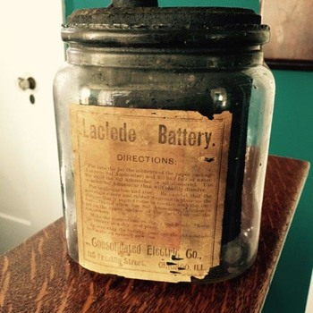 Wet Cel Battery Jar
