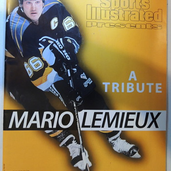 Mario Lemieux - 4 Magazine Covers - Hockey