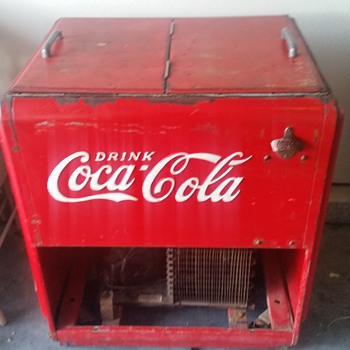 Coca-Cola cooler  - Coca-Cola