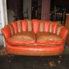 Swanky Deco Vinyl Love Seat