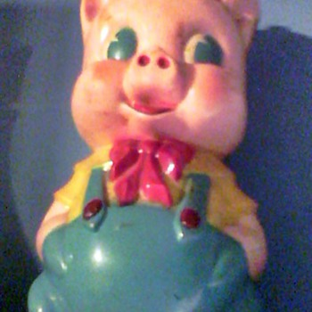 Bakelite Piggy Bank  - Coin Operated