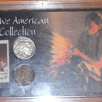 Native American Coin and Stamp Collection