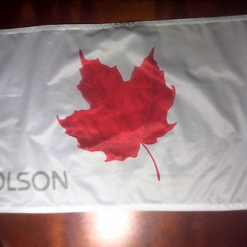 Molson Canadian Golf Flag - Military and Wartime