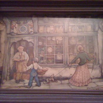 Anton Pieck  - Posters and Prints