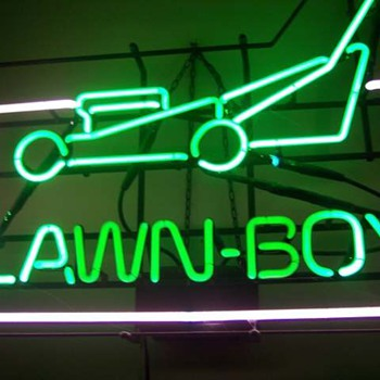 Lawn-Boy Mowers Neon Sign
