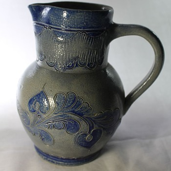 Monochrome Jug - Remmy MM, Betchsdorf - Art Pottery