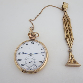 Wax Seal Pocket Watch Fob