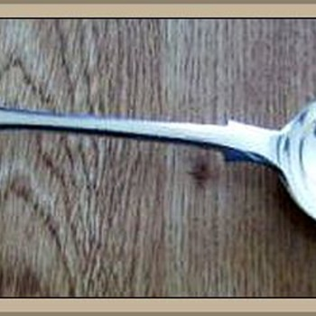 Spoon Marked -- Help - Sterling Silver