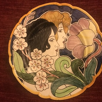 Beautiful Art Deco plate
