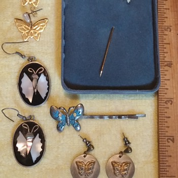 Butterfly Jewelry - Costume Jewelry