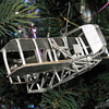 Antique warplane Xmas ornaments