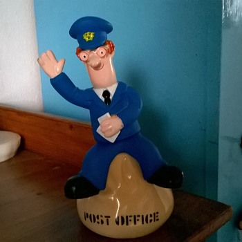 1995 Postman Pat Bubble Bath Figure