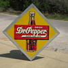 1940&#039;s Dr Pepper Tin 45&quot; by 45&quot;