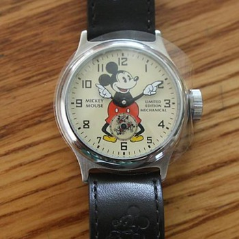 20 jewel remake of 1933 Mickey - Wristwatches
