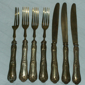Antique Dessert Flatware Set ~ Solingen