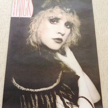 Stevie Nicks 'Rock A Little' promo poster