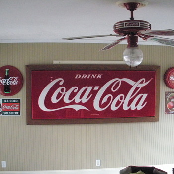 Coca Cola Sign - Coca-Cola