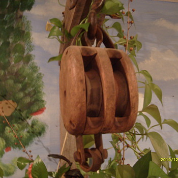 Double Block Hay Pulley - Tools and Hardware
