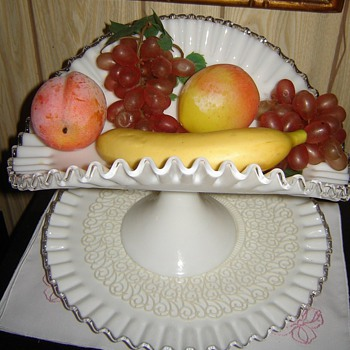 Fenton Milk Glass