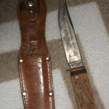 vintage rich. abr herder huntin knife.