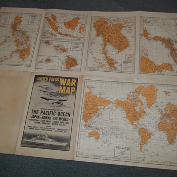 ww2 map - Military and Wartime