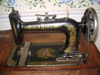 new home sewing machine antique value