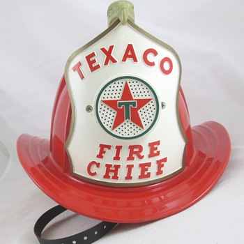 Texaco Fire Chief Hat - Petroliana