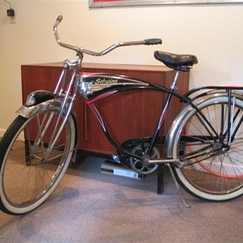 1950&#039;s Schwinn Black Phantom Clone