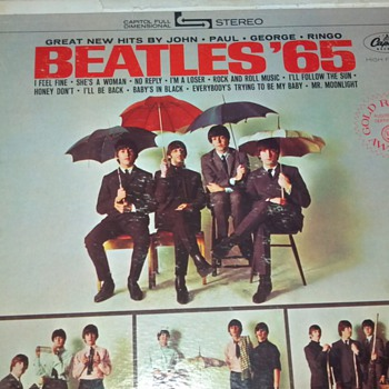 Beatles &#039;65 Vinyl Record