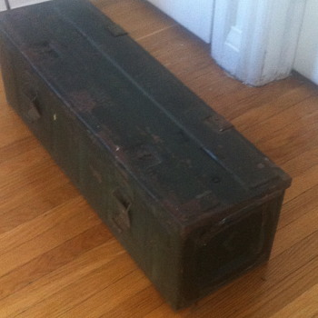 Military ammo case.
