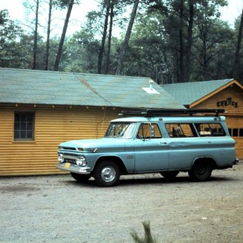 early 1960s GMC carryall
